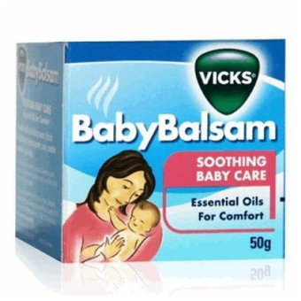 Harga Vicks Baby Balsam Soothing Baby Care 50gr -