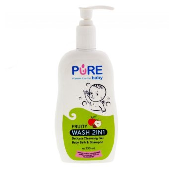 Harga Pure Baby Wash 2 in 1 Fruity 230ml