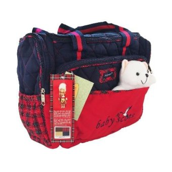 Harga Baby Scots Lynx Candy Tas Bayi - Scots Embroidery Diaper Bag