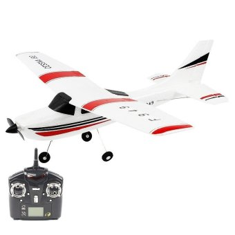 Harga WLtoys F949 3CH 2.4G Cessna 182 Micro RC Airplane RTF