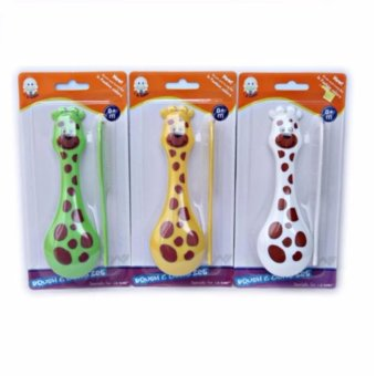 Harga IQ Baby Brush and Comb Set Giraffe 0m+ - Sisir Bayi
