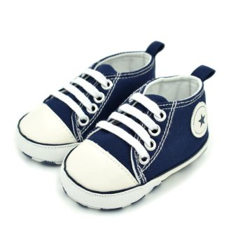 Harga Baby Prewalker Anti-slip Canvas Shoes - intl