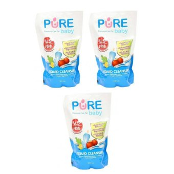 Harga Pure Baby Liquid Cleanser 700ml Refill