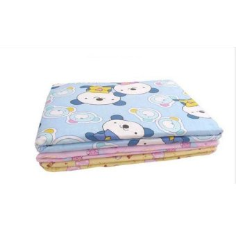 Harga Baby Infant Reusable Cotton Cloth Waterproof Urinal Padcover Mat Mattress Pad,Large Size (Intl) - intl