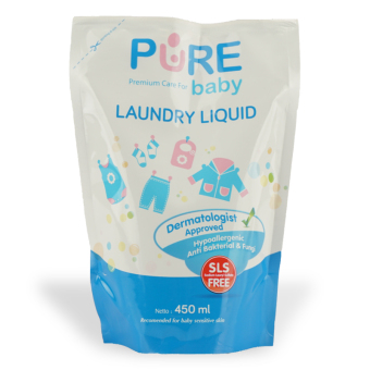 Harga Purebaby Laundry Liquid 450ml - PBC011
