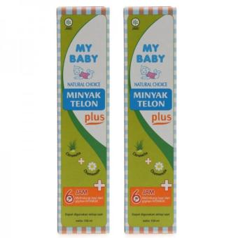 Harga My Baby Minyak Telon Plus 150 ml - 2 Pack