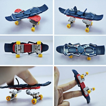 Harga Christmas Finger Skate Boarding Truck Mini Skateboard Toy - intl