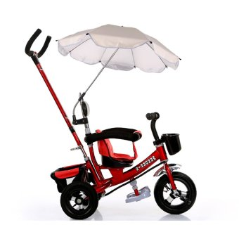 Harga Sun Protection UV Rays Umbrella Shade White for Baby Pushchair