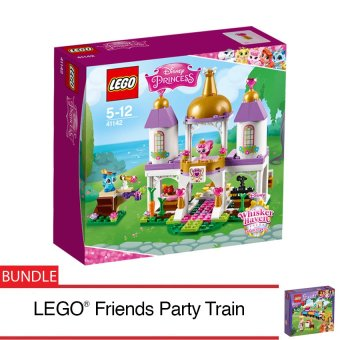 LEGO® Disney Princess™ Palace Pets Royal Castle + LEGO® Friends Party Train