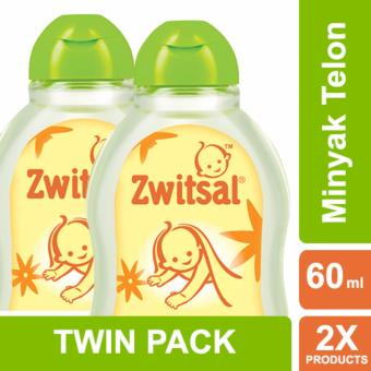 Harga Zwitsal Baby Natural Minyak Telon - 60ml - TWIN PACK