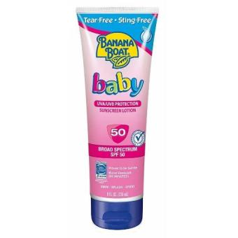 Harga Banana Boat Baby Sunscreen Lotion Spf50 236ml