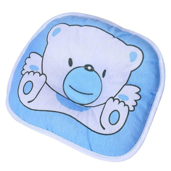 Harga Bluelans Baby Soft Infant Support Head Home Living Flat Sleeping Cushion Pillow Blue