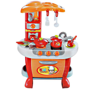 Harga Tomindo Kids Kitchen Little Chef - Red