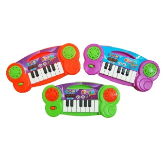 Ocean Toy Mini Piano Elektrik Set Of 2 Mainan Edukasi Anak OCT298 - Multicolor