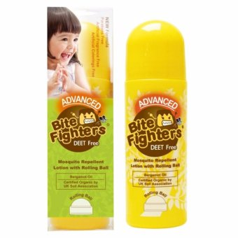 Harga Bite Fighters Mosquito Repellent Lotion With Rolling Ball - 100 mL
