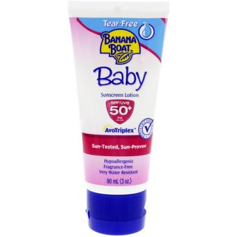 Harga Banana Boat Baby Sunscreen Lotion SPF 50+ 90 mL
