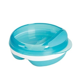 Harga Oxo tot Divided Feeding Dish - Aqua