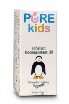 Harga Pure Baby Inhalant Decongestant Oil Isi 10ml