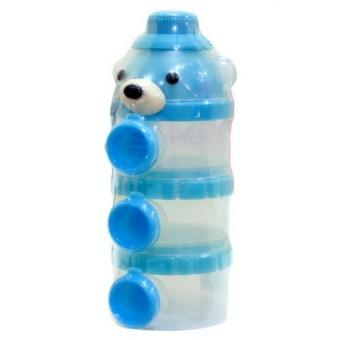 Harga Freeshop Little Bear Container Susu 100ml S192 - Biru