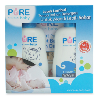 Harga Pure Baby Travel Toiletries Freshy 80ml - PBC013