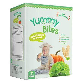 Harga Yummy Bites Vegetables 50 gr - isi 24 pcs