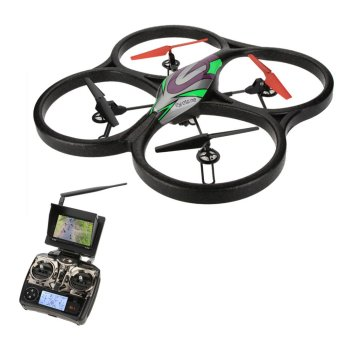 Harga WL Toys Drone/Quadcopter V666 5.8G FPV + Camera + LCD Screen