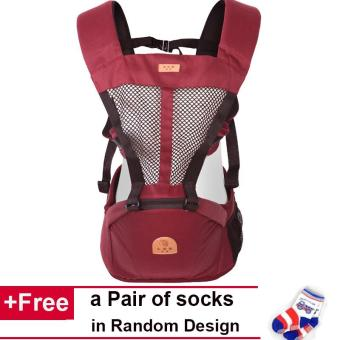 Hipseat Baby Wrap Multifunctional Front Facing Baby Carrier Sling Backpack