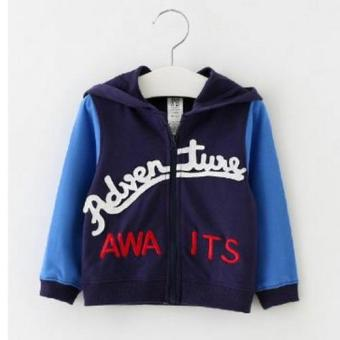 Harga Freeshop Jaket Anak Baby Fleece Adventure F994 - Biru