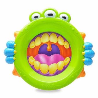 Harga Nuby Monster Plate - Green