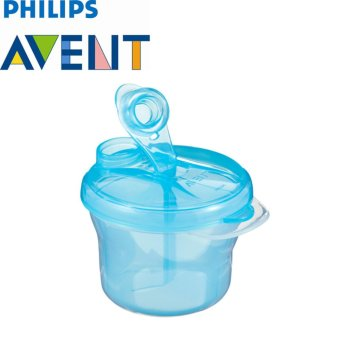 Philips Avent Scf135/06 Milk Powder Dispenser - Tempat Penyimpan Susu (Biru)