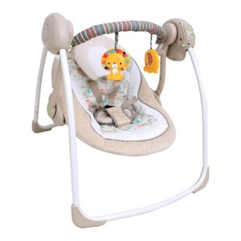 Harga Weeler Baby Portable Swing 6194 - Cream