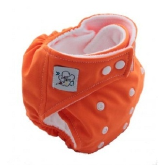Harga Amart Baby Nappy Cloth Adjustable Diapers Soft Covers Diaper Orange - intl