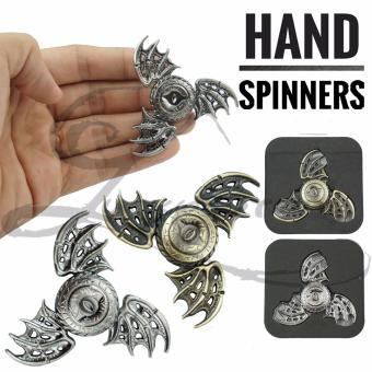 Harga Lucky Special Deisgn Triangle Fidget Spinner Flying Fish EAGLE Eye Magic Dragon Wings Zinc Alloy Hand Toys Focus Games / Mainan Spiner Tangan Penghilang Kebiasan Buruk - Random - 1 Pcs