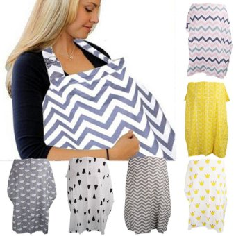 Imixlot Mother Breast Feeding Maternity Nursing Apron Breastfeeding Covers Storage Bag - intl