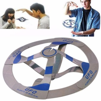 Interesting Mystery UFO Floating Flying Disk Hovers Saucer Magic Trick Toy - intl