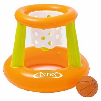 Terbaik Murah Intex Basket Swimming Floating Hoops. Ring Basket Kolam Mainan Anak 58504 Pencarian Termurah