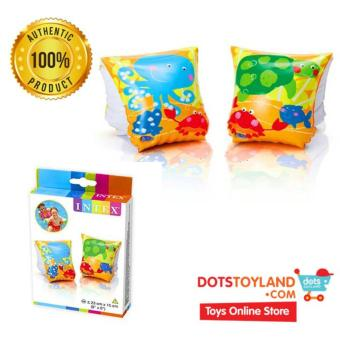 INTEX Pelampung Tangan Anak Starfish Arm Bands 58652