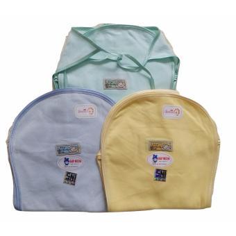Jelova Angela Selusin Popok Baby Bayi Mocha POLOS Premium Quality - SNI Standart - 12pcs -