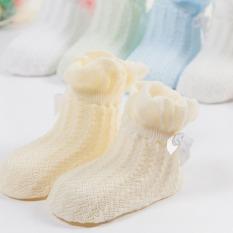 ... Kaos Source Jiayiqi 1 pasang jala katun tipis musim panas bayi anti slip untuk balita