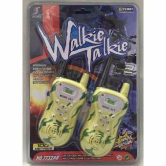 Jual Jiyuan Walkie Talkie Simple Handy Talkie 1 Pasang - Coffee Murah