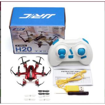 JJRC H20 Mini Drone Hexacopter 6 Axis 2.4G 4CH - Merah