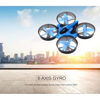 JJRC H36 Mini Drone Quadcopter 6 Axis 2.4G 4CH Mini Drone untuk Pemula - Warna Acak