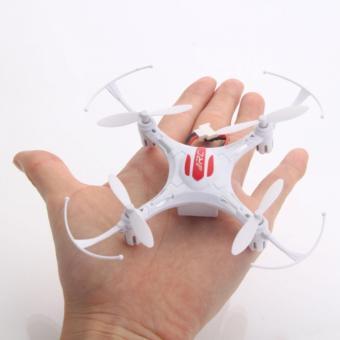JJRC H8 Mini Drone untuk Pemula dengan Fitur Headless Warna Putih