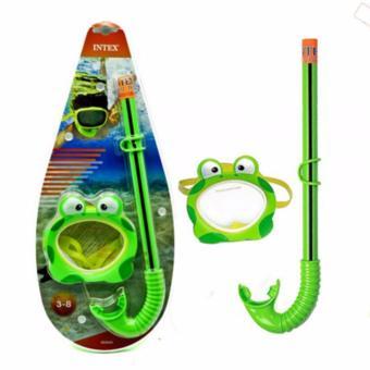 Update Harga Kaca Mata Selam Anak Intex Froggy Fun Set Kacamata Renang Anak IDR140,000.00  di Lazada ID