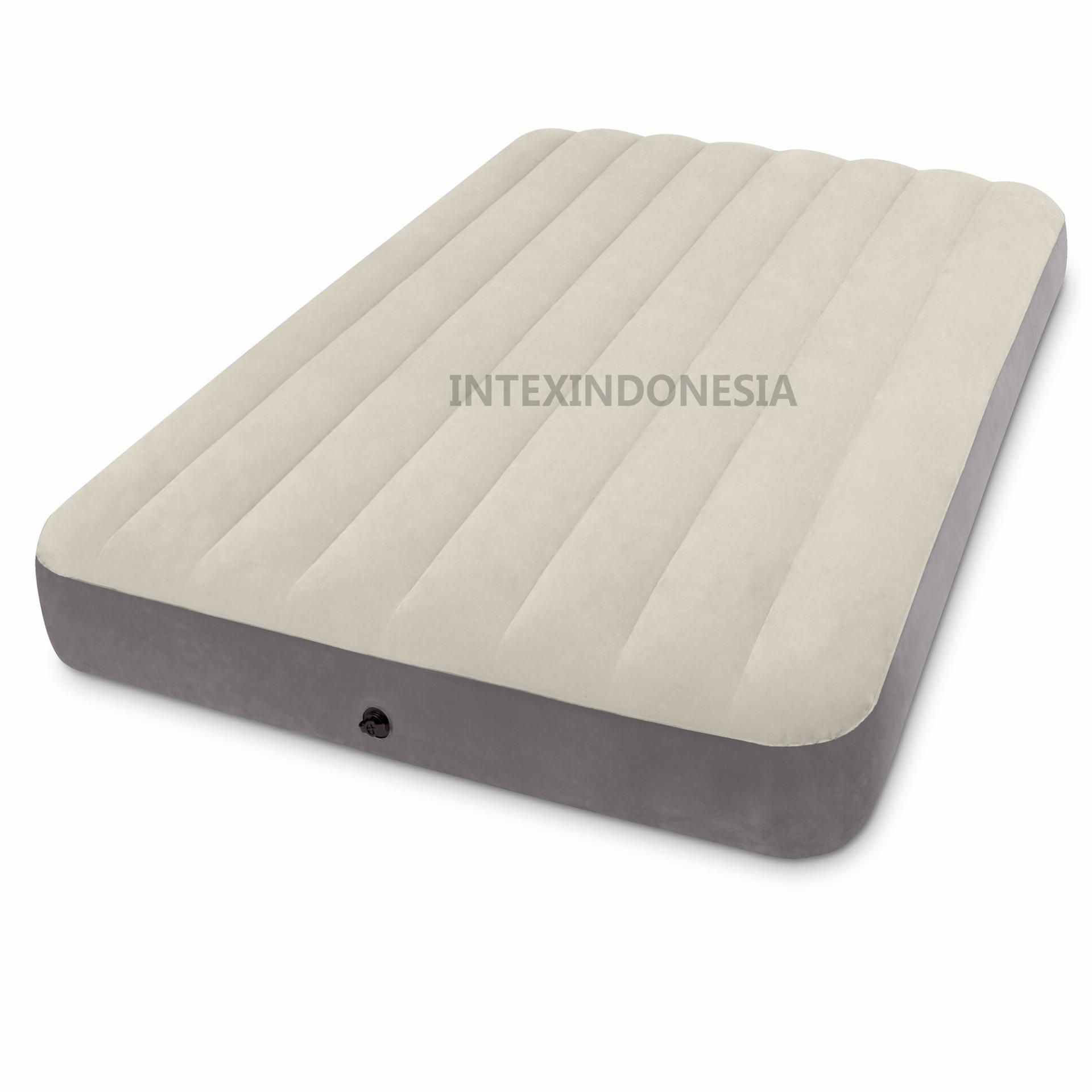 Kasur Angin Intex Full Deluxe Single High Airbed 64708
