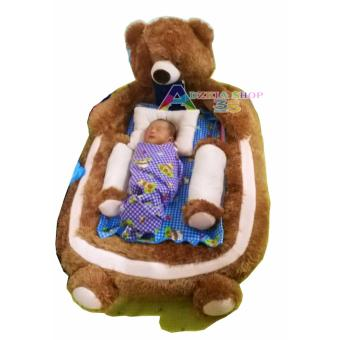 kasur bayi karakter beruang