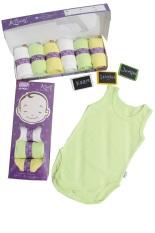 Kazel Singlet Jumper - baju bayi s.d batita ( 0 - 2 thn )