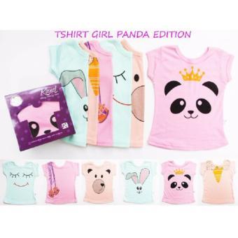 Kazel t-shirt/tee panda 6 in 1