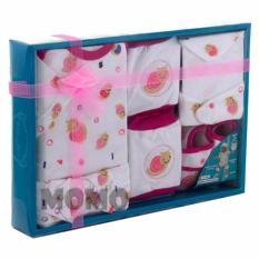Kiddy Baby Gift Set Motif Snail 11168 - Satu Set Pakaian Bayi Motif