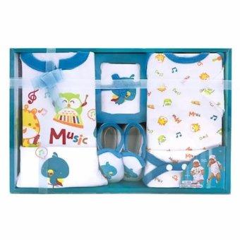 Kiddy Baby Gift Set Music 11143 Biru - Set Pakaian Bayi